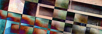 Abstract Royalty-Free and Rights-Managed Images - Abstract Lines and Shapes by Edward Fielding