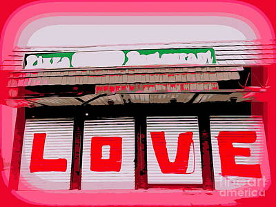 Photograph - Abstract Love by Ed Weidman