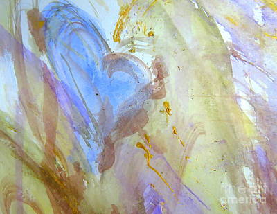 Painting - Abstract Love by France Laliberte