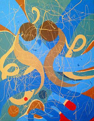 Painting - Abstract Love - Painting by Ai P Nilson