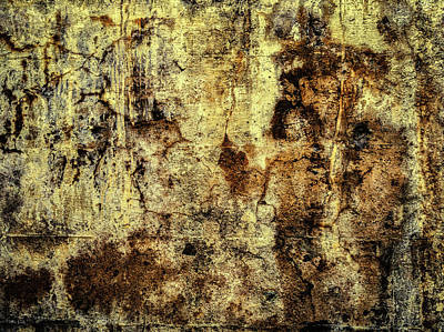 Photograph - Abstract Lumber Mill Foundation 2 by Bob Orsillo