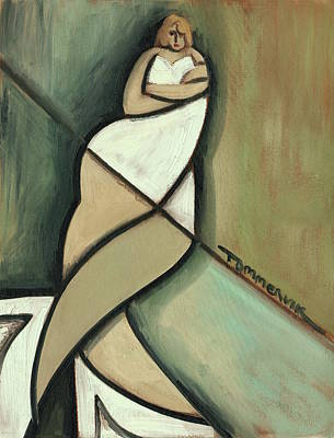 Painting - Abstract Marilyn Monroe Art Print by Tommervik