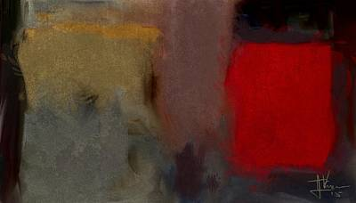 Painting - Abstract May 28 2015 by Jim Vance