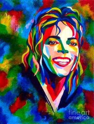 Abstract Michael Jackson Original