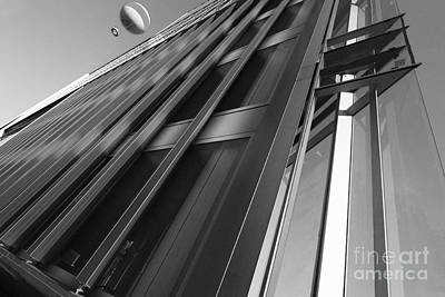 Cities Photograph - Abstract Modern Architecture by Dani Prints and Images