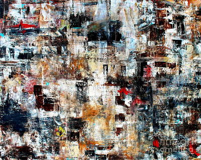 Painting - Abstract Modern Contemporary Art II by Pristine Cartera Turkus
