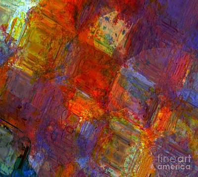 West Africa Mixed Media - Abstract Moments by Fania Simon