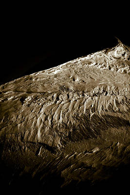 Photograph - Abstract Mountainscape by Frank Tschakert