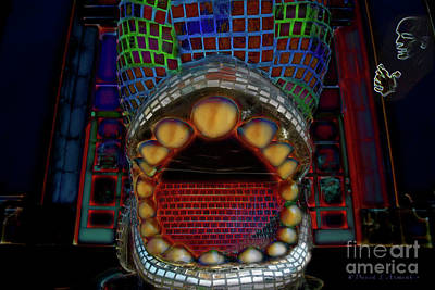 Photograph - Abstract Mouth by David Arment