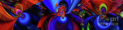 Photograph - Abstract Movement 2 by Elaine Hunter