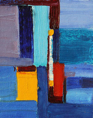 Painting - Abstract No 2 by Nancy Merkle