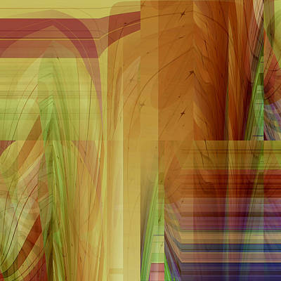 Digital Art - Abstract No 36 by Robert G Kernodle