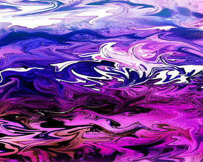 Royalty-Free and Rights-Managed Images - Abstract Ocean Fantasy Two by Irina Sztukowski