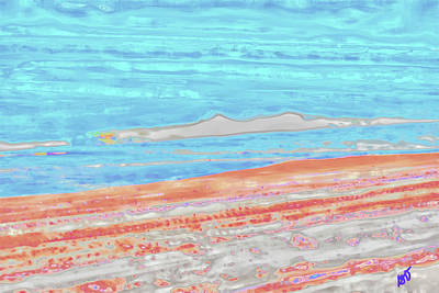 Photograph - Abstract Ocean Scene by Gina O'Brien