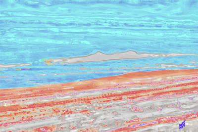 Photograph - Abstract Ocean Scene by Gina O'Brien