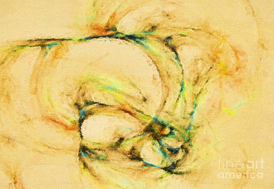 Painting - Abstract Of Hope by Deborah Benoit