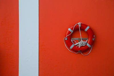 Life Gaurd Photograph - Abstract Of Life by Sean Telford