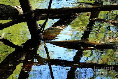 Abstract Of St Croix River 03 Art Print