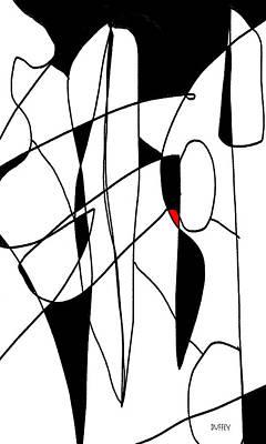 Digital Art - Abstract Ohne Titel 2 by Doug Duffey