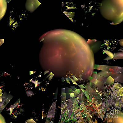 Digital Art - Abstract No 1 by Olga Hamilton