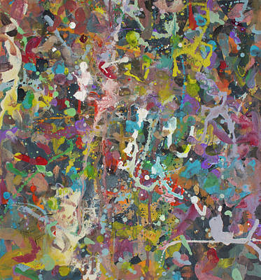 Painting - Abstract Painting - Alien Jungle 1 by Bert Ernie