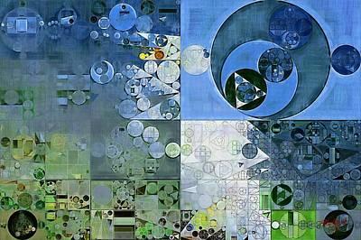 Fanciful Digital Art - Abstract Painting - Breaker Bay by Vitaliy Gladkiy
