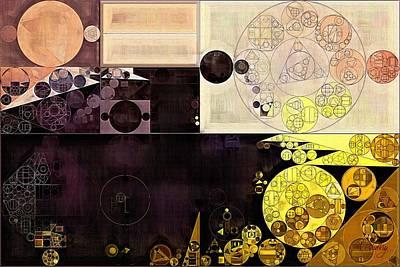 Abstract Painting - Chamois Print by Vitaliy Gladkiy