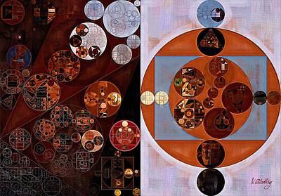 Feelings Digital Art - Abstract Painting - Chatelle by Vitaliy Gladkiy