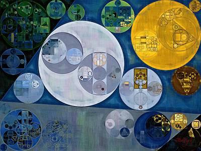 Abstract Painting - Chino Print by Vitaliy Gladkiy