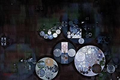 Forms Digital Art - Abstract Painting - Cod Grey by Vitaliy Gladkiy