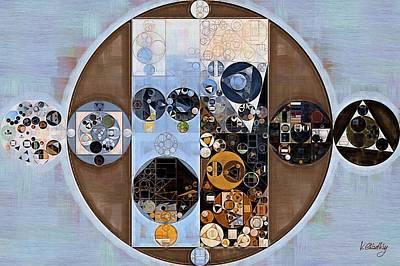 Spindle Digital Art - Abstract Painting - Cola by Vitaliy Gladkiy