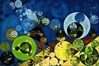 Abstract Painting - Goldenrod Art Print by Vitaliy Gladkiy