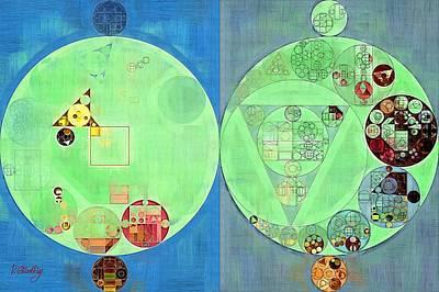 Abstract Painting - Gondola Art Print