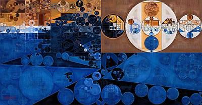 Abstract Painting - Havana Art Print by Vitaliy Gladkiy