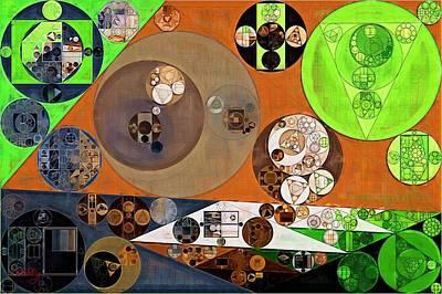 Abstract Painting - Highball Art Print
