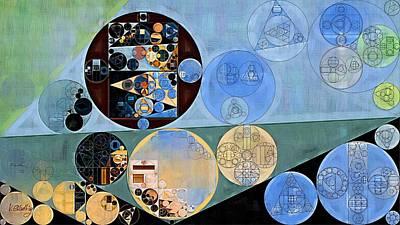Horizon Line Digital Art - Abstract Painting - Horizon by Vitaliy Gladkiy