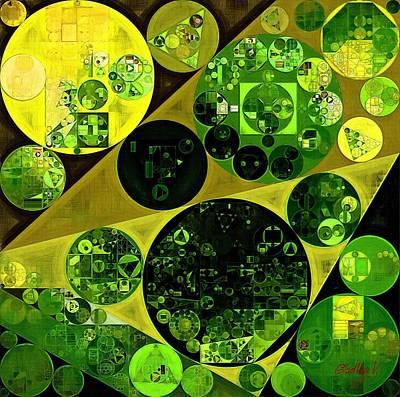 Abstract Painting - Las Palmas Art Print by Vitaliy Gladkiy