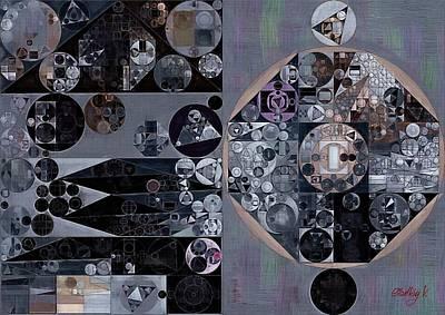 Feelings Digital Art - Abstract Painting - Manatee by Vitaliy Gladkiy