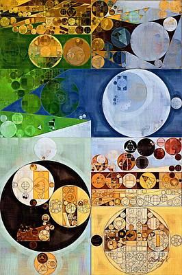 Abstract Forms Digital Art - Abstract Painting - Mikado by Vitaliy Gladkiy