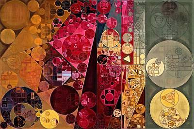 Fawn Digital Art - Abstract Painting - Mule Fawn by Vitaliy Gladkiy