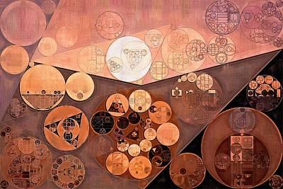 Ornamental Digital Art - Abstract Painting - Paarl by Vitaliy Gladkiy