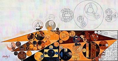 Platinum Digital Art - Abstract Painting - Peru by Vitaliy Gladkiy