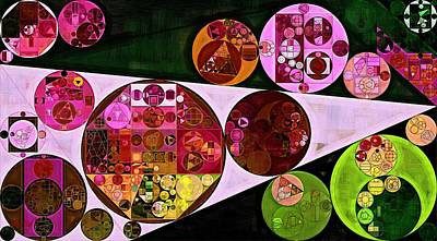 Gouache Photograph - Abstract Painting - Pink Pearl by Vitaliy Gladkiy