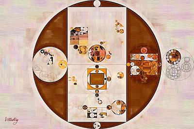 Feelings Digital Art - Abstract Painting - Pueblo by Vitaliy Gladkiy