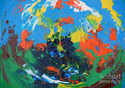Painting - Abstract Painting R1115a by Mas Art Studio