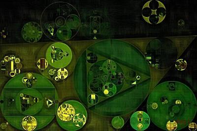 Grande Digital Art - Abstract Painting - Rio Grande by Vitaliy Gladkiy