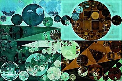 Feelings Digital Art - Abstract Painting - Riptide by Vitaliy Gladkiy