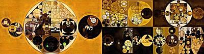 Sahara Digital Art - Abstract Painting - Sahara by Vitaliy Gladkiy