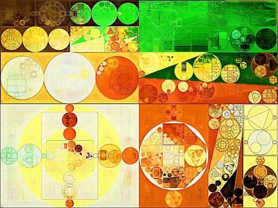 Feelings Digital Art - Abstract Painting - San Felix by Vitaliy Gladkiy