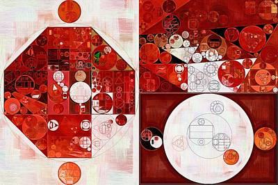 Abstract Painting - Spring Wood Art Print by Vitaliy Gladkiy